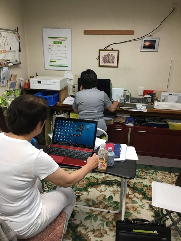 ブログ勉強会の様子